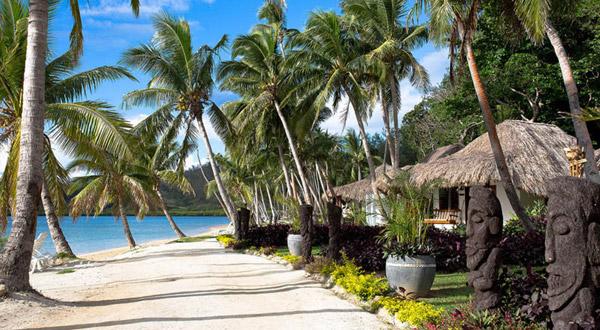 beachfront bures fiji tropica island resort