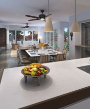 Nanuku Auberge Resort – Villa Kitchen / Dining