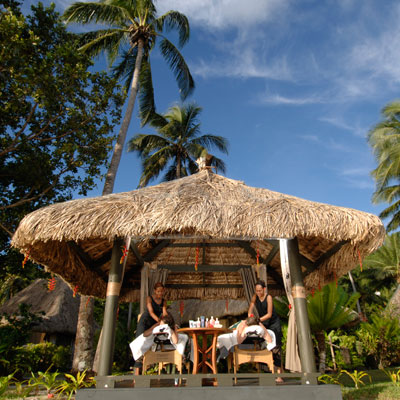 qamea resort fiji massage