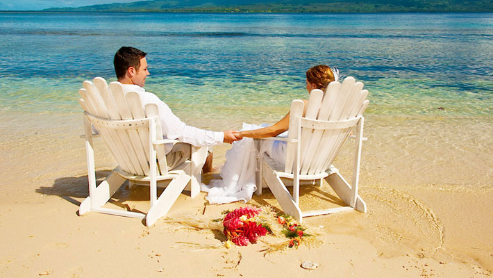 qamea resort fiji wedding package