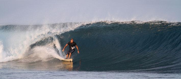 six senses fiji surfing