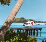 Tokoriki Island Resort Fiji – Helicopter Arrival