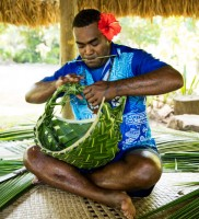 Castaway Island Resort – Basket Weaving