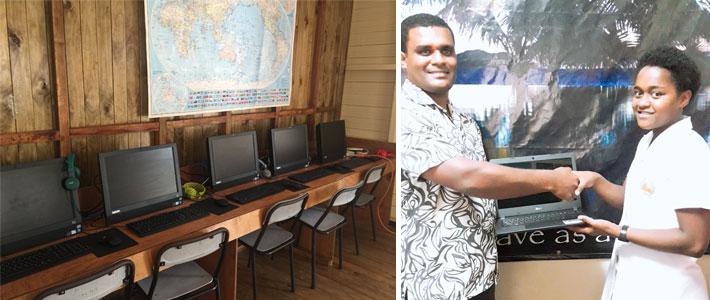 fiji school donations