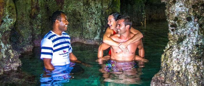 things to do in fiji caving