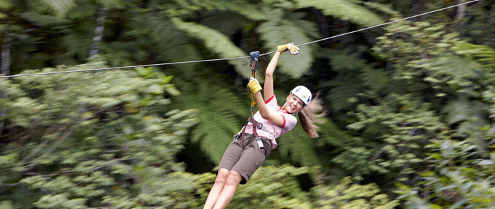things to do in fiji zip lining