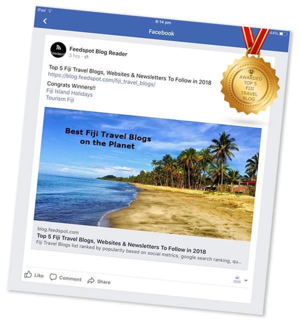 top fiji travel websites