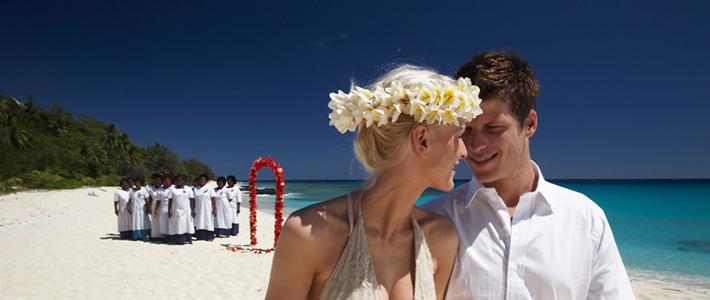 fiji cruise wedding