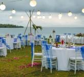 Yatule Resort Fiji – Beachfront Wedding Reception