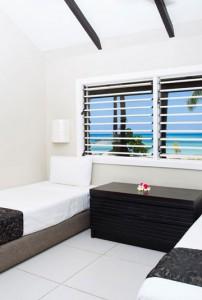 Plantation Island Resort – Beachfront Bure Interior
