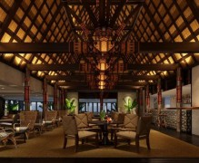 Shangri-La Fijian Resort – Reception Area