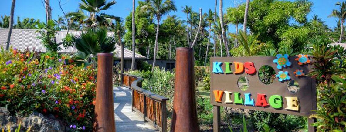 vomo island resort fiji kids club