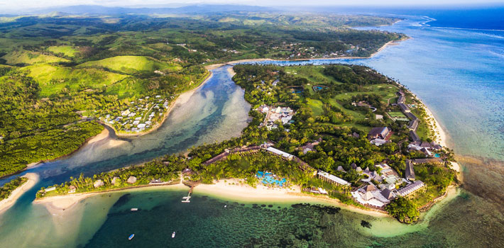 fiji resorts with golf courses