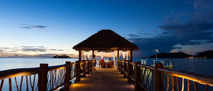 tropica island resort fiji meal packages