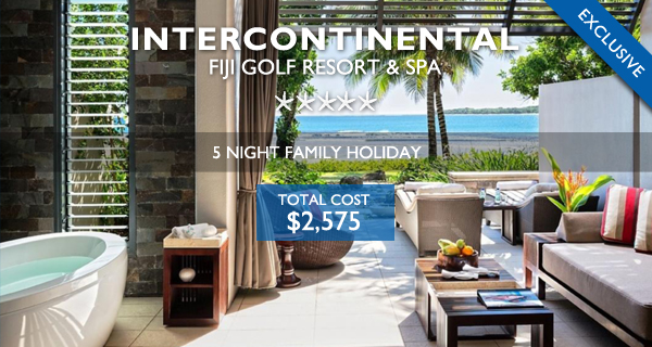 intercontinental fiji family holidays 2019