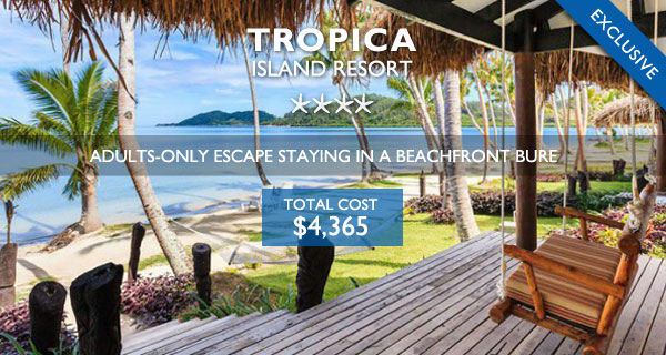 tropica island resort fiji adults only holiday 2019