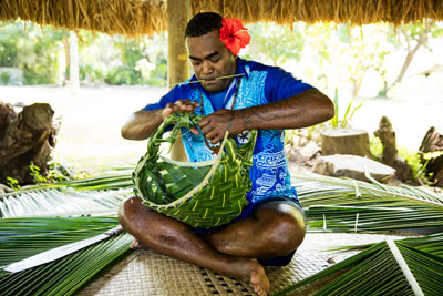 castaway island resort fiji village tour