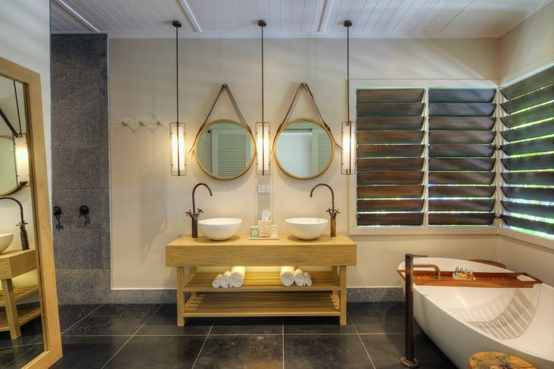 vomo island fiji accommodation bathroom