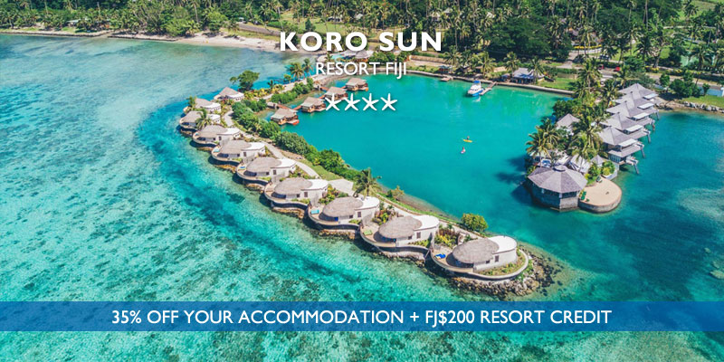 koro sun resort fiji travel special 2020