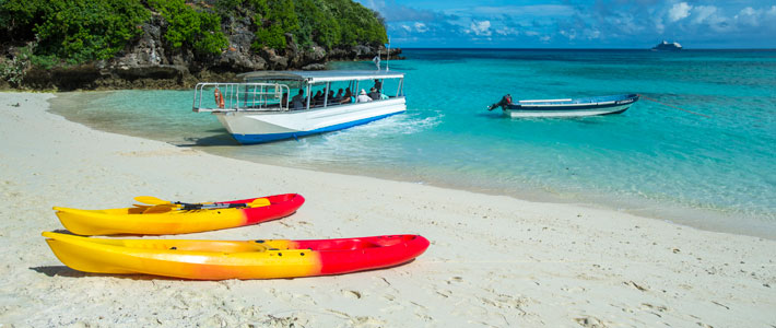 fiji cruise holiday with island stay