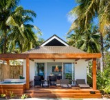 Lomani Island Resort – Beachfront Pool Bure Exterior
