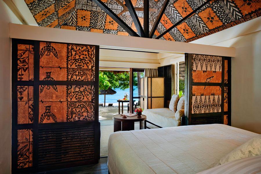 castaway island resort fiji beachfront bure accomodation