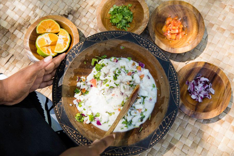 castaway island resort fiji cuisine