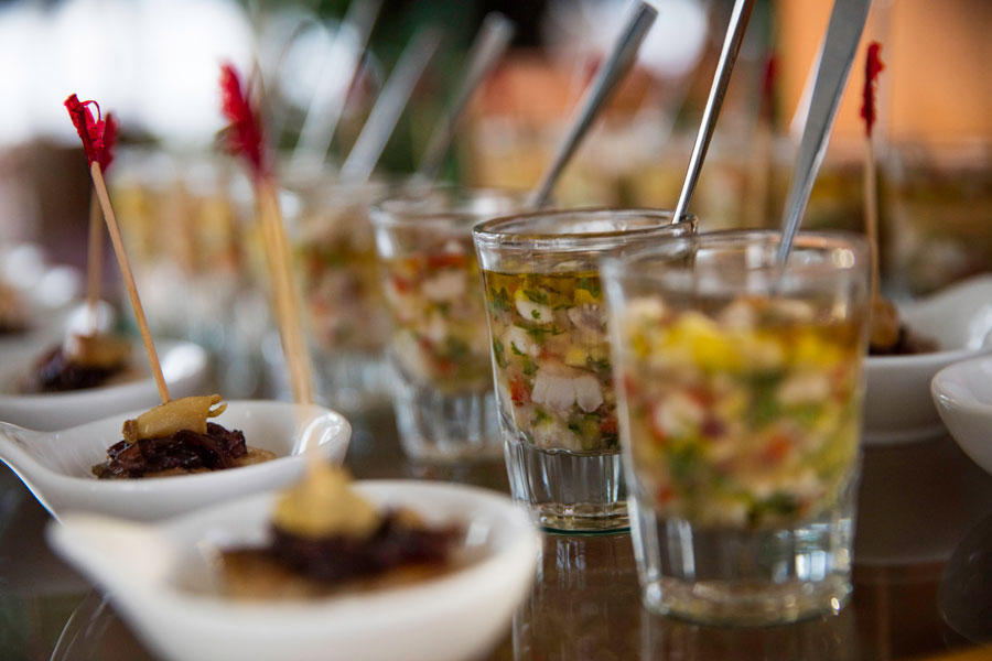 castaway island resort fiji food